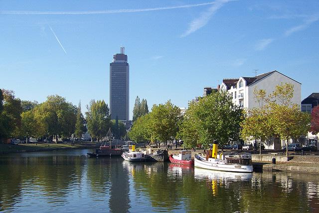 Aperçu de la ville de Nantes