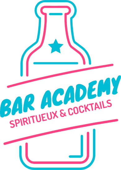 Logo Bar Academy, Spiritueux & Cocktails